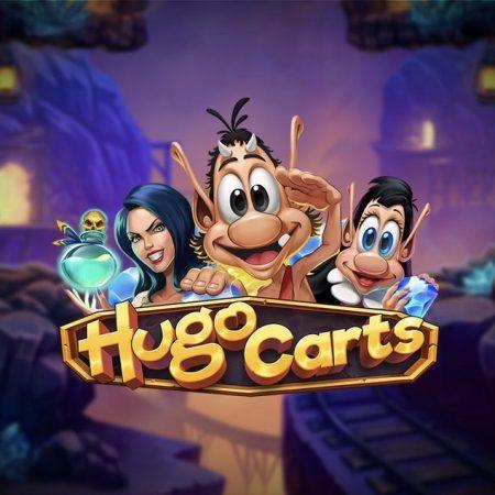 Hugo Carts, new 1024 ways slot game