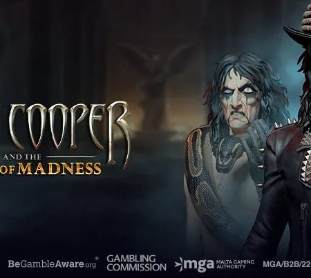 New, Alice Cooper and the Tome of Madness