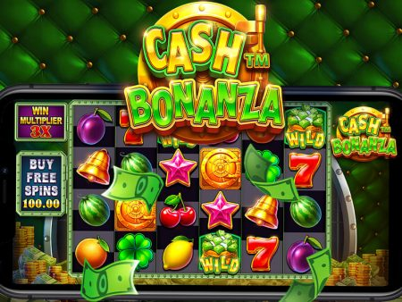 New, Cash Bonanza with increasing ways and re-spins
