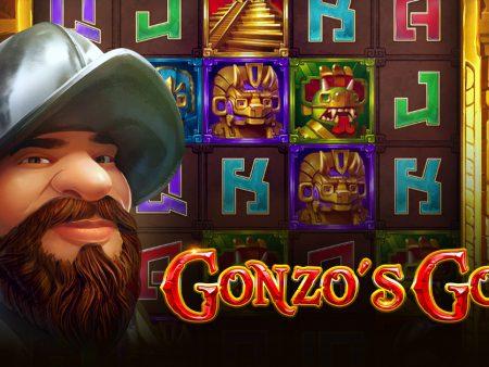 New NetEnt slot, Gonzo's Gold